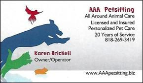 AAA Petsitting | Oak Park, CA 91377