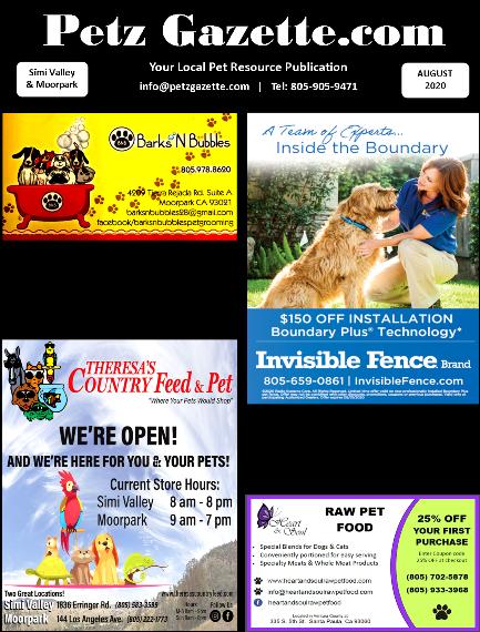 Simi Valley & Moorpark   August 2020